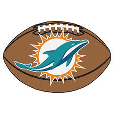 "NFL Miami Dolphins Football Rug - 22"" x 35"""