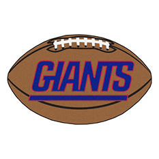 "NFL New York Giants Football Rug - 22"" x 35"""