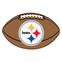 Image of NFL - Pittsburgh Steelers Football Mat