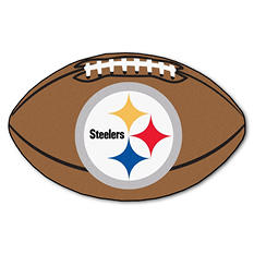 "NFL Pittsburgh Steelers Football Rug - 22"" x 35"""