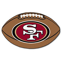 Image of NFL - San Francisco 49ers Football Mat