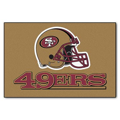 """NFL San Francisco 49ers Starter Rug - 19"""" x 30"""""""