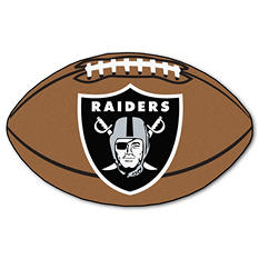 "NFL Oakland Raiders Football Rug - 22"" x 35"""