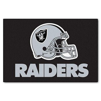"NFL Oakland Raiders Starter Rug 19"" x 30"""