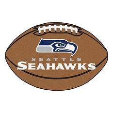 "NFL Seattle Seahawks Football Rug - 22"" x 35"""