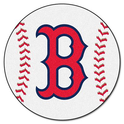 "MLB Boston Red Sox Baseball Mat - 27"" Diameter"