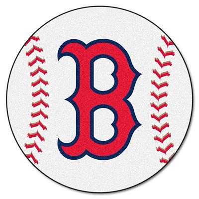 "MLB Boston Red Sox Baseball Mat - 27"" Diameter"