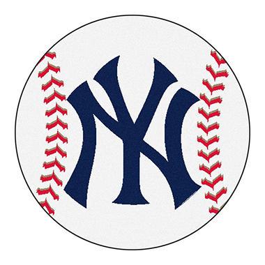 MLB New York Yankees Baseball Mat 27