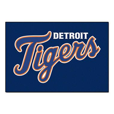 MLB Detroit Tigers Starter Rug - 19