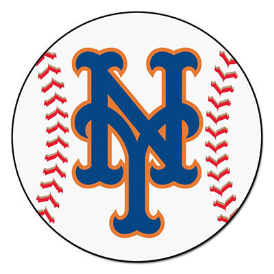 "MLB New York Mets Baseball Mat - 27"" Diameter"