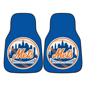 MLB - New York Mets 2-pc Carpet Car Mat Set