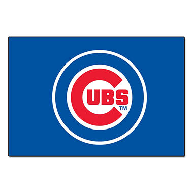 "MLB Chicago Cubs Starter Rug - 19"" x 30"""
