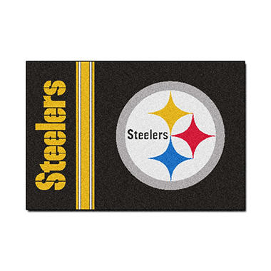 "NFL Pittsburgh Steelers Starter Rug - 19"" x 30"""