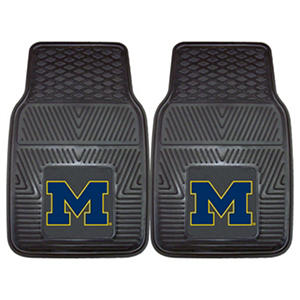 NCAA - University of Michigan 2-pc Vinyl Car Mat Set