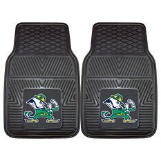 "NCAA Notre Dame Heavy-Duty 2-Piece Vinyl Car Mats - 18"" x 27"""
