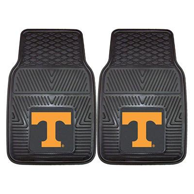 "NCAA Tennessee Heavy-Duty 2-Piece Vinyl Car Mats - 18"" x 27"""