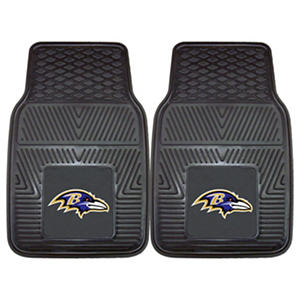 NFL - Baltimore Ravens 2-pc Vinyl Car Mat Set