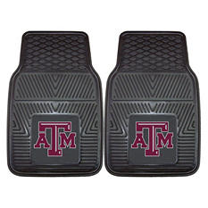 "NCAA Texas A&M Heavy-Duty 2-Piece Vinyl Car Mats - 18"" x 27"""