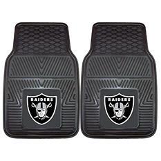 "NFL Oakland Raiders Heavy-Duty 2-Piece Vinyl Car Mats - 18"" x 27"""