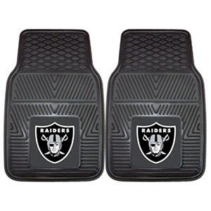 NFL - Oakland Raiders 2-pc Vinyl Car Mat Set