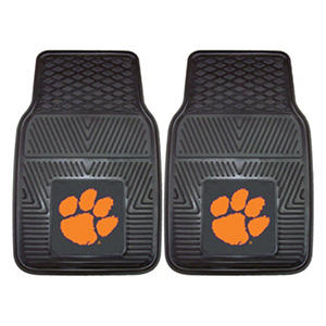 NCAA - Clemson University 2-pc Vinyl Car Mat Set