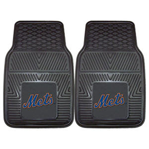 MLB - New York Mets 2-pc Vinyl Car Mat Set