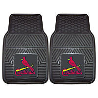 MLB - St. Louis Cardinals 2-pc Vinyl Car Mat Set