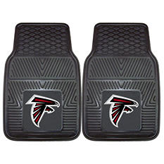 "NFL Atlanta Falcons Heavy-Duty 2-Piece Vinyl Car Mats - 18"" x 27"""