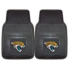 "NFL Jacksonville Jaguars Heavy-Duty 2-Piece Vinyl Car Mats - 18"" x 27"""
