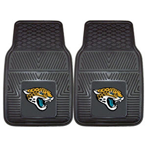 NFL - Jacksonville Jaguars 2-pc Vinyl Car Mat Set