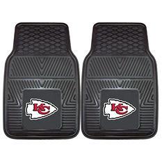 "NFL Kansas City Chiefs Heavy-Duty 2-Piece Vinyl Car Mats - 18"" x 27"""