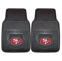 Image of NFL - San Francisco 49ers 2-pc Vinyl Car Mat Set