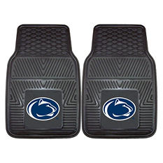 "NCAA Penn State  Heavy-Duty 2-Piece Vinyl Car Mats - 18"" x 27"""