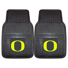 NCAA Oregon 2-Piece Heavy Duty Vinyl Car Mat Set