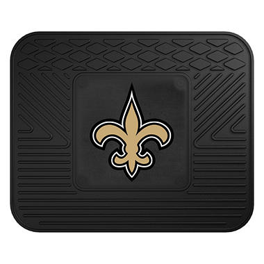 "NFL New Orleans Saints Utility Mat - 14"" x 17"""