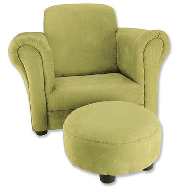 Trend Lab Chair and Ottoman - Baby Barnyard