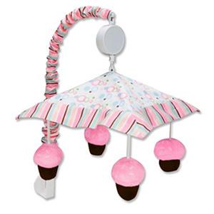 Trend Lab Musical Mobile - Cupcake