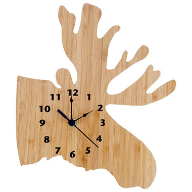 Trend Lab Moose Wall Clock - Northwoods