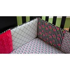 Trend Lab Crib Bumper - Zahara Zebra