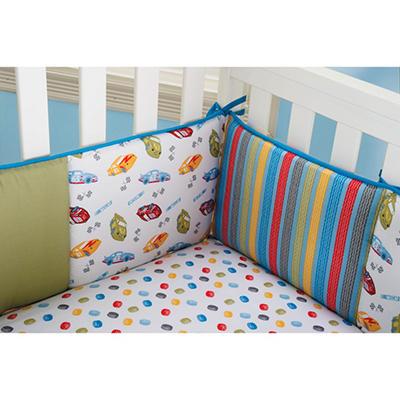 Trend Lab Crib Bumper - Nascar