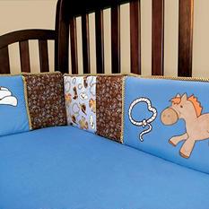 Trend Lab Crib Bumper - Cowboy Baby