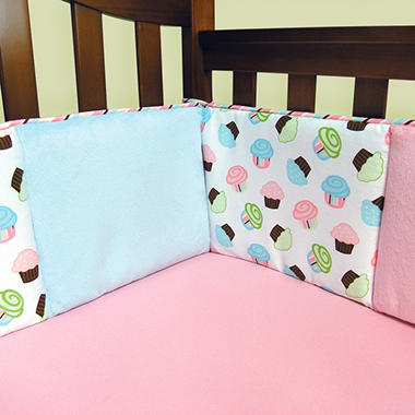 Trend Lab Crib Bumper - Cupcake