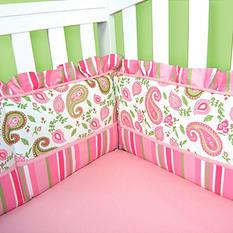 Trend Lab Crib Bumper - Paisley Park