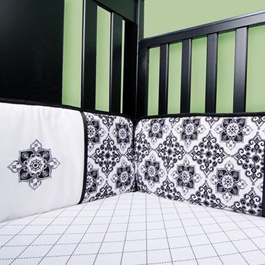 Trend Lab Crib Bumper - Versailles