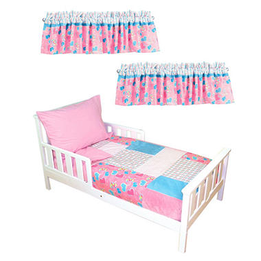 Trend Lab Toddler Bedding Set - Groovy Love - 6 pc.