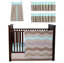 Click here for Trend Lab Baby Crib Bedding Set  6 pc. - Cocoa Min... prices