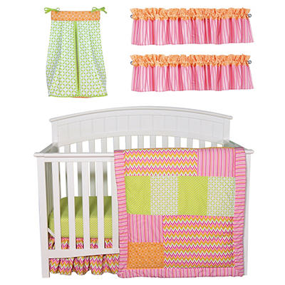 Trend Lab Baby Crib Bedding Set, 6 pc. - Savannah