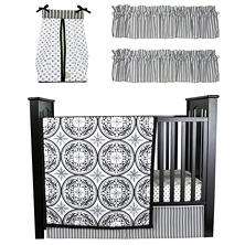 Trend Lab Baby Crib Bedding Set, 6 pc. - Medallions