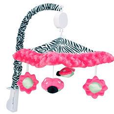 Trend Lab Musical Mobile - Zahara Zebra