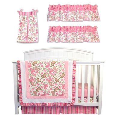 Trend Lab Baby Crib Bedding Set, 6 pc. - Paisley Park
